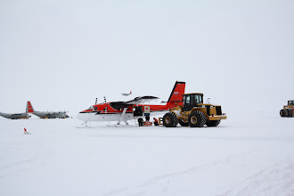 Photo: The DeHavilland DHC-6 Twin Otter being loaded up for camp put-in