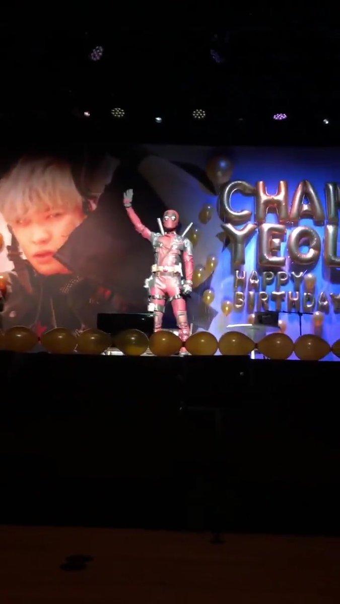 exo chanyeol deadpool 3