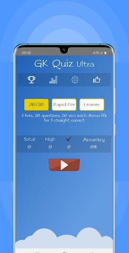 World General Knowledge Quiz Game : GK Quiz Ultra 1.1 screenshots 2