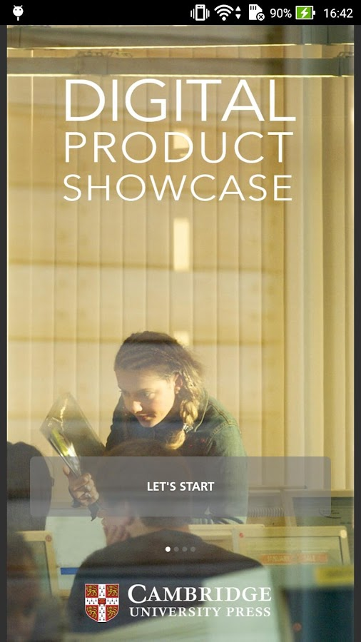 Digital Product Showcase- screenshot