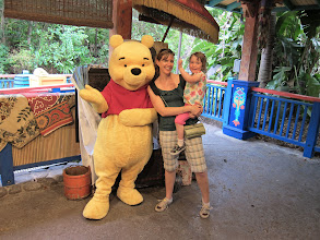 Photo: Winnie the Pooh at Disney Animal Kingdom