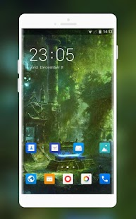 Theme for Intex Neo Vi Scary Wallpaper - náhled