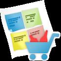 shopping list calculator icon