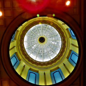Capitol Dome by Hal Gonzales - Buildings & Architecture Architectural Detail ( circles, circular, dome, circle, building,  )