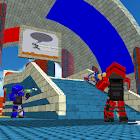 Blocky Gun Paintball icon