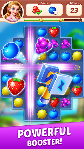 Fruit Genies - Match 3 Puzzle Games Offline apkslow screenshots 18