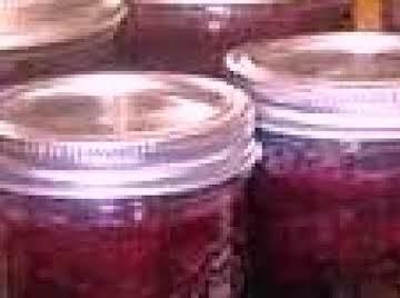Grandma's Best Blueberry Cinnamon Jam
