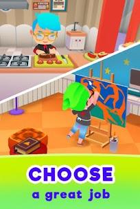 Idle Life Sim – Simulator Game MOD (Free Purchase/Money) 2