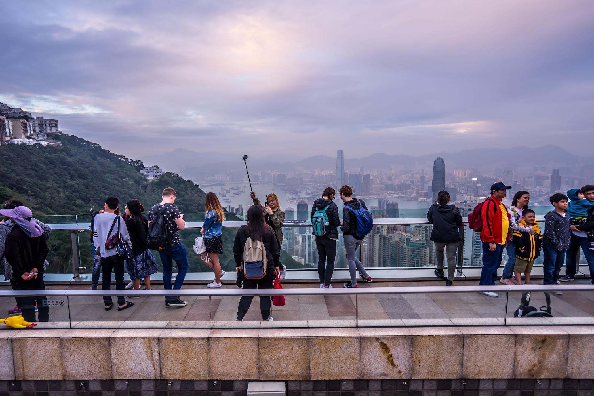 香港 ピーク・タワー 展望台1