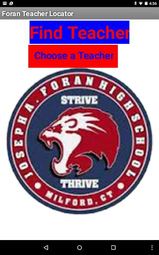 Foran Teacher Locator