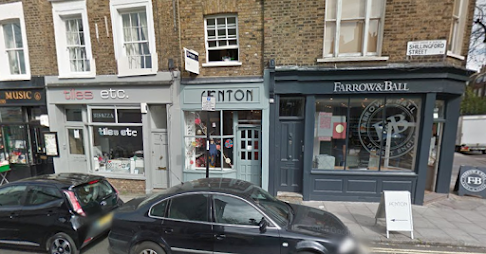 Tiles etc. and the nearby Farrow & Ball shop (image courtesy of Google Maps)