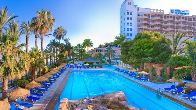 Hotel Playadulce, localizado en Aguadulce.