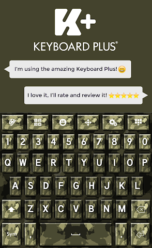 Army Camouflage Keyboard