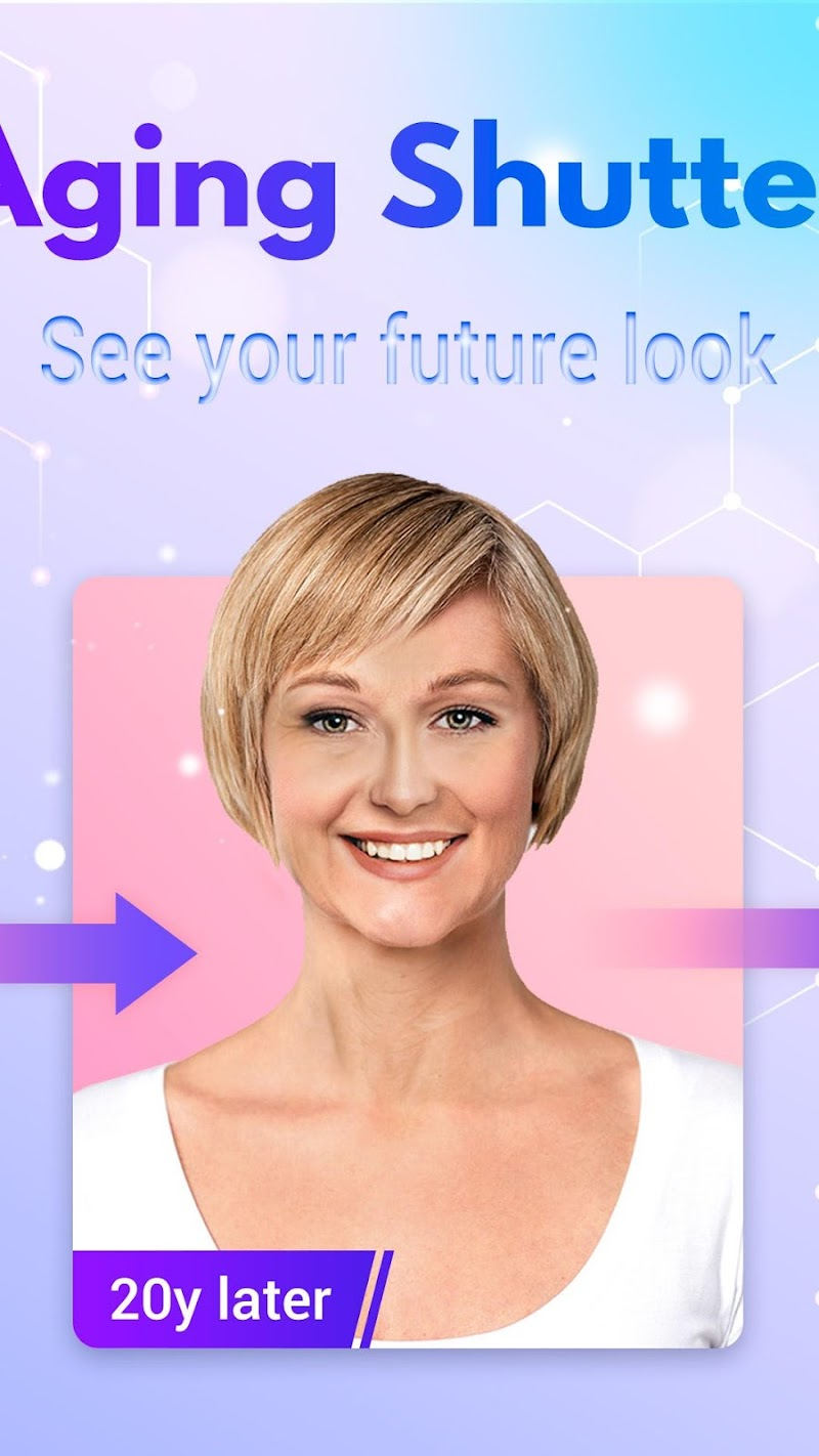 HiddenMe - Face Aging App, Baby Face, Face Scanner Screenshot 1