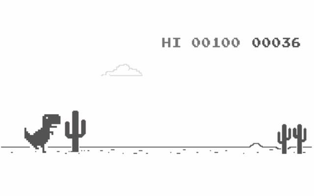 Running dinosaur Game