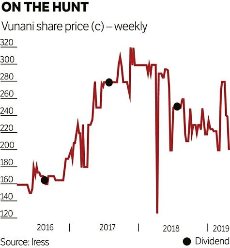 Vunani starting to cast a wider net
