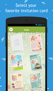 Birthday party invitation apps on google play screenshot image stopboris Choice Image