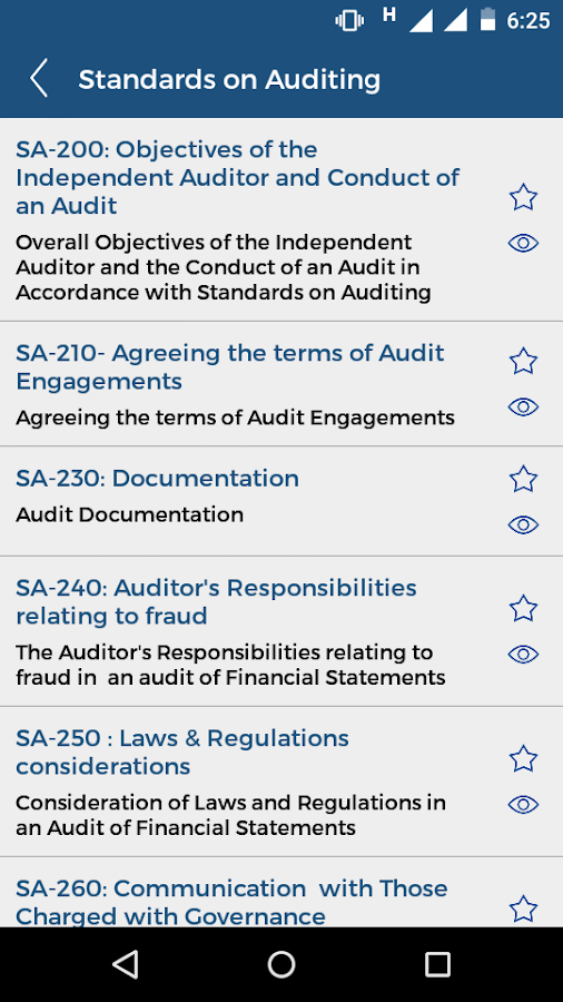 Accounting Auditing Resources- screenshot