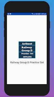 Railway Group D Practise Set & Book -Hindi OFFLINE - náhled