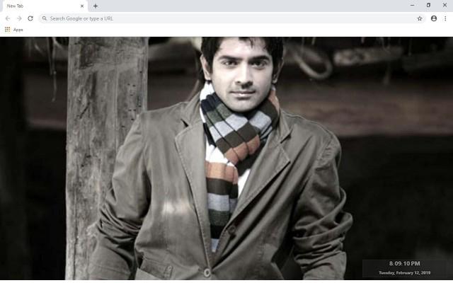 Barun Sobti New Tab & Wallpapers Collection