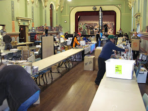 Photo: Setting up morning of the 19th August 2012 @ Parramatta Town Hall