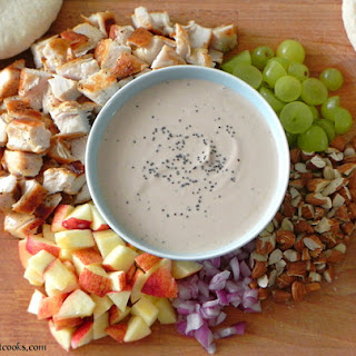 Chicken Salad with Honey, Balsamic & Poppy Vinaigrette