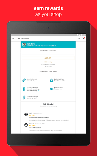 Screenshot 6 for Overstock.com's Android app'