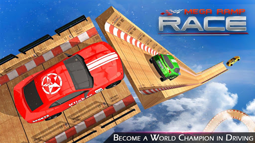Mega Ramp Race - Extreme Car Racing New Games 2020 apkmind screenshots 2