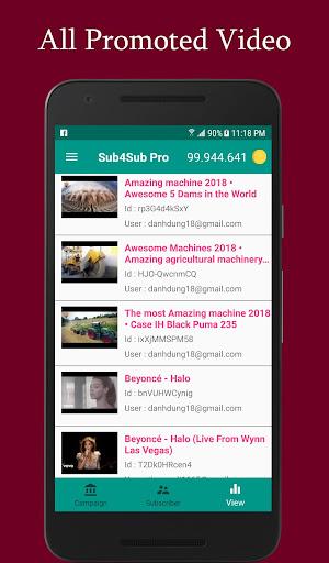 Sub4Sub Pro (No Ads)  screenshots 5
