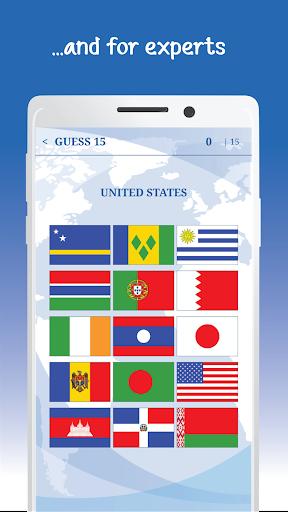 The Flags of the World u2013 Nations Geo Flags Quiz 5.1 screenshots 6