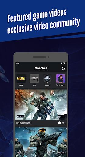 MosChat-Professional gaming stats tracker screenshot 1