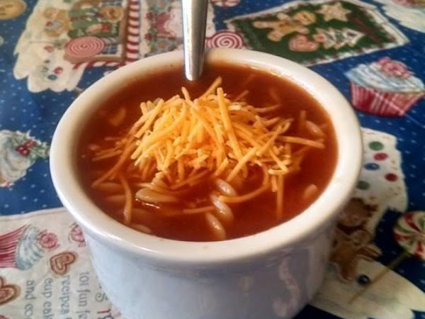Chili Beer Soup With Pasta Recipe