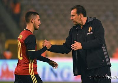 """🎥 Marc Wilmots interrogé sur De Bruyne et Hazard: """"Qui est le plus fort? Une connerie"""""""