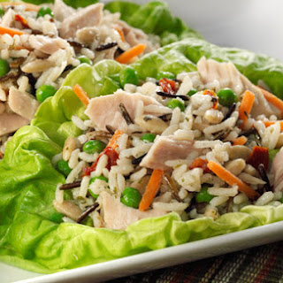 Albacore Tuna and Rice Medley Lettuce Cups Recipe