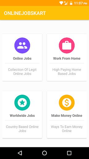 Onlinejobskart - Money Making App, Work From Home screenshots 1