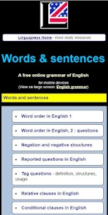 English grammar guide with rules  and examples- screenshot thumbnail