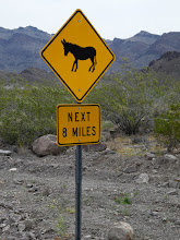 Photo: Heading to Oatman