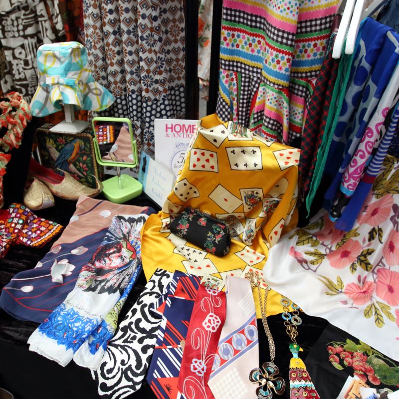 The London Print Design Fair textiles