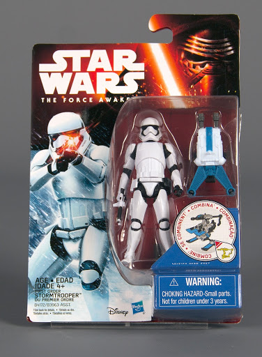 Action figure:First Order Stormtrooper, The Force Awakens, Star Wars