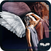 Angel Wings Photo Effect