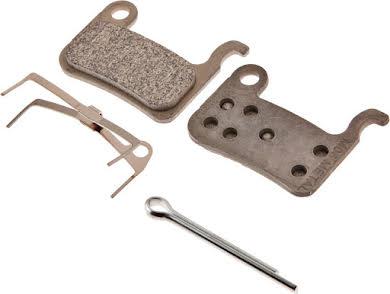 Shimano M06 Metal Disc Brake Pads & Spring alternate image 1