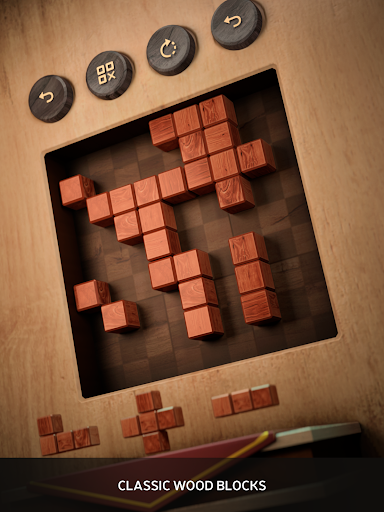 Wood SudoBlocks 3D - A Better Classic Wood Puzzle android2mod screenshots 10