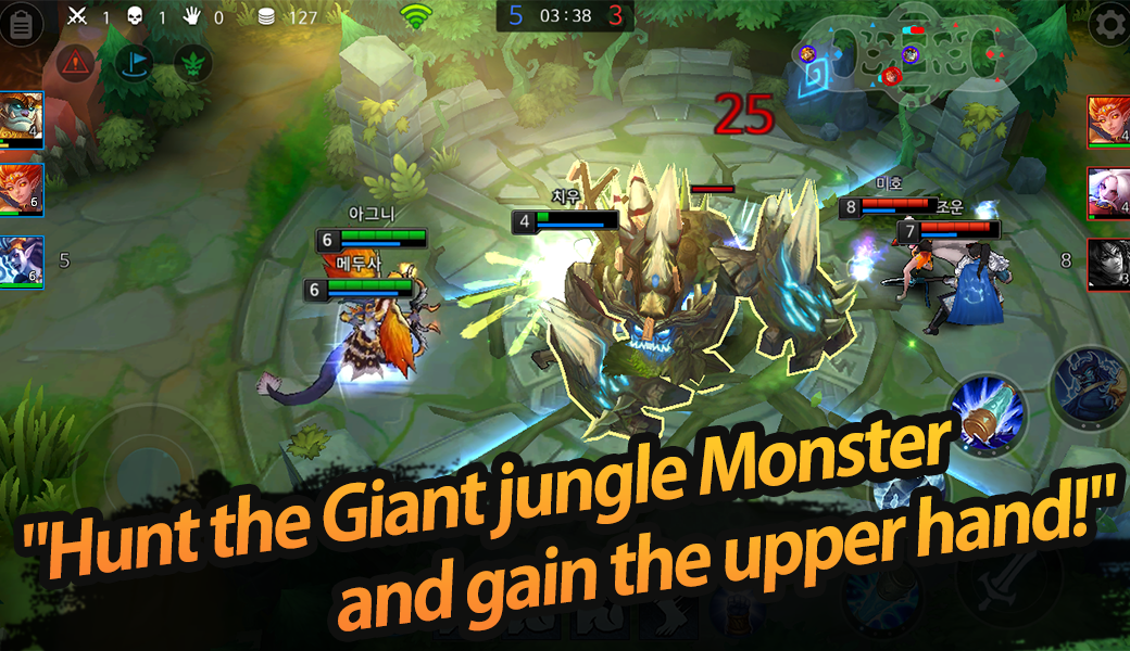 League of Masters : Legend PvP MOBA Battle- screenshot