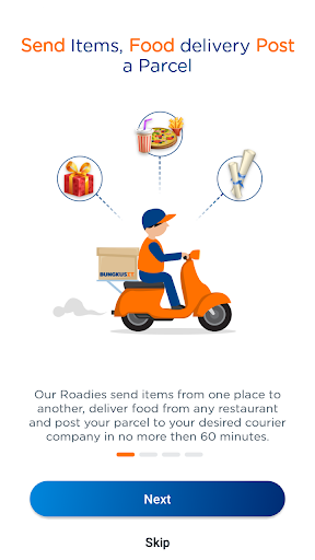 Bungkusit - Food and Parcel Delivery 6.4 screenshots 1