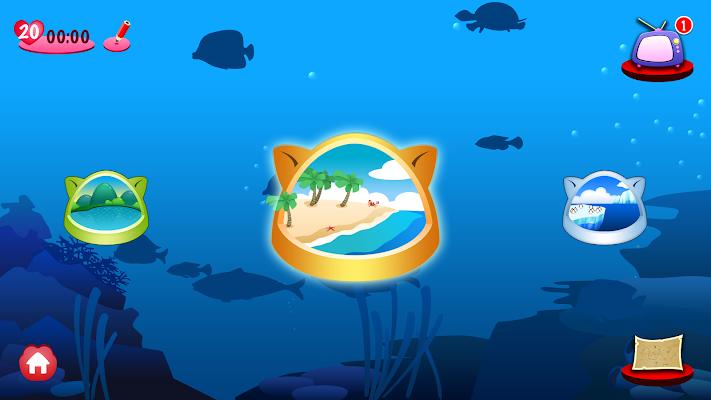 Fishing Cat - Garfield edition - screenshot