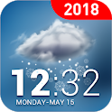 Real-time weather report icon