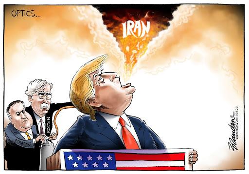 CARTOON: Trump's Iran optics