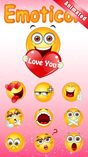 GO Keyboard Sticker Emoticon Screenshot