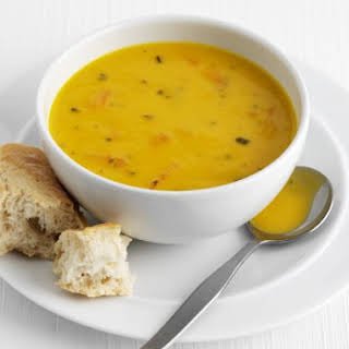 Creamy Carrot and Pepper Soup.