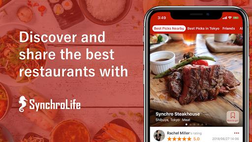 SynchroLife: Best Restaurant Review & Search App 4.1.2 Windows u7528 1